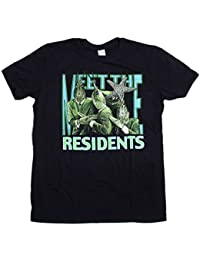 The Residents T Shirt - Meet The Residents 100% Official Residents Merchandise