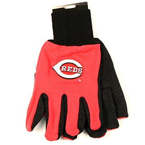 MLB Arbeitshandschuhe, offizielles Lizenzprodukt, Cincinnati Red