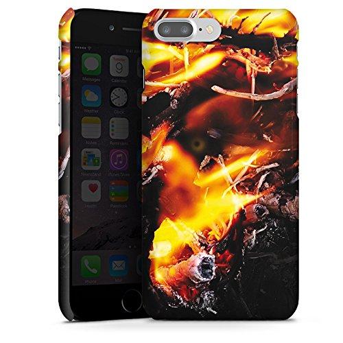 Apple iPhone X Silikon Hülle Case Schutzhülle Feuer Dämon Armageddon Premium Case glänzend