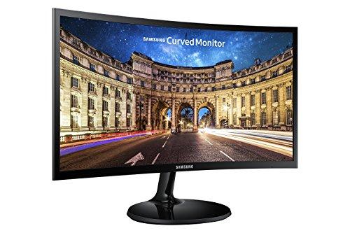 fernseher 26 zoll full hd Samsung C24F390F 61 cm (24 Zoll) Curved Monitor (VGA, HDMI, 16:9, 4ms)