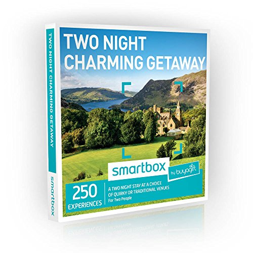 Buyagift Two Night Charming Getaway Gift Experiences - 250 two night stays at a range of UK and European venues