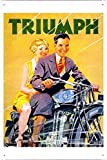 EV SIGN - Metall plakat poster Blechschild Wandschild 20x30cm (E4343M00211)
