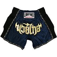 Lumpinee pantalones cortos retro originales de Muay Thai para lucha de Kick Boxing LUMRTO-010