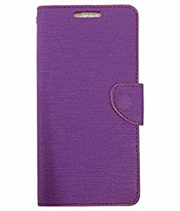 DESIGNERZ HUB FLIP COVER FOR COOLPAD NOTE 4-PURPLE
