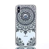 CUAgain Coque iPhone XS Max Silicone Transparent Transparente Antichoc Motif Drôle...