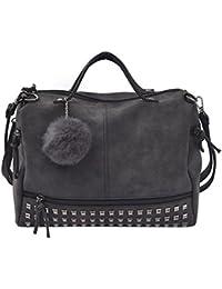 suchergebnis auf f r schwarze tasche mit nieten schuhe handtaschen. Black Bedroom Furniture Sets. Home Design Ideas