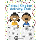 Animal Kingdom Activity Book: A Jumbo Sized Workbook Filled With Word Search Puzzles, Coloring Activities, Draw Your Own Comics, And More, For Kids Ages 6-8