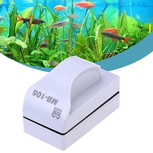UKCOCO Fisch Tank Glass Magnet Bürste,Aquarium Reiniger Algen Schaber Scheibenreiniger Bürste,Größe L (Reiniger Algen Magnet)