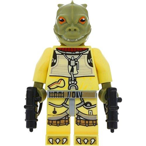 Lego Star Wars Minifigur Bossk mit 2 GALAXYARMS Waffen
