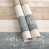 LZYMLG Carta da parati autoadesiva impermeabile in PVC adesivi per rinnovo mobili dormitorio camera da letto soggiorno TV sfondo decorazione murale carta da parati Venatura del legno