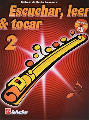 ESCUCHAR, LEER TOCAR VOL. 2º METODO DE FLAUTA TRAVESERA + CD