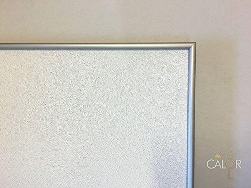 Calorsol Chauffage Infrarouge (Cadre en Aluminium), 1000W 1000.00 Watts