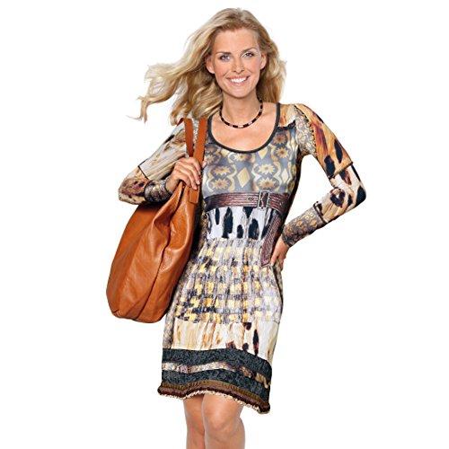 Unbekannt Designer-Kleid BELT Gr. 40 - (K2253 GR.40) - Frauen Designer-kleidung
