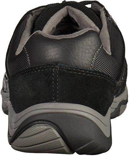 Clarks Baystonego Gtx, Francesine Uomo Nero (Black Leather)