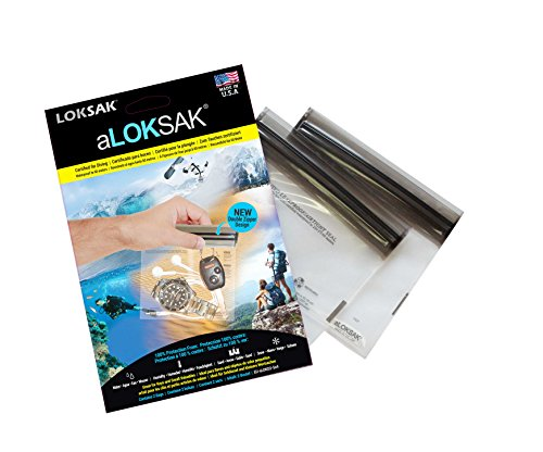 ALOKSAK BAGS Interior Dimensions 12Ã' x 10.2Ã' cm Watch Storage Box Key Waterproof Up to 60Ã' m by Loksak