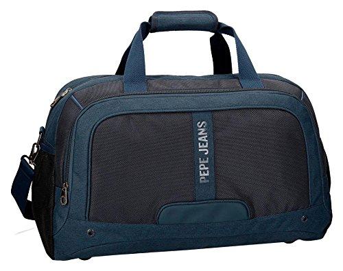 Pepe Jeans Greenwich - Bolsa de Viaje, 50 cm, 36.45 litros, Azul