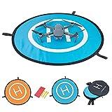 Héliport de Piste Pliable pour Drone DJI Mavic Pro – Meersee 75CM Drones Landing Pad imperméable Piste de Pécollage / Ptterrissage pour DJI Mavic Pro, DJI Spark, DJI Phantom 4/4 Pro et plus