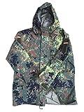 Parka, Deutsches Militär-Design, Flecktarn, Goretex, Gr. L Gr. XXL, camouflage