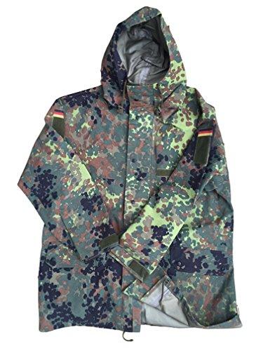Parka, Deutsches Militär-Design, Flecktarn, Goretex, gebraucht kaufen  Wird an jeden Ort in Deutschland