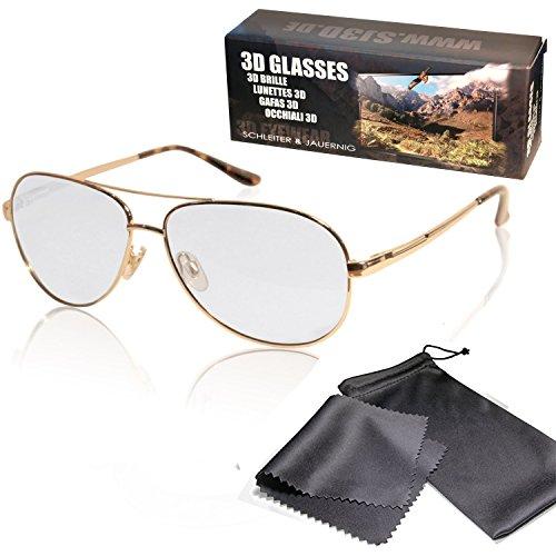sj3d-passive-3d-brille-hochwertige-3d-aviator-brille-goldfarben-polfilterbrille-zirkular-polarisiert