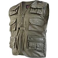 34795f956f6904 normani Outdoor Weste Safari mit vielen praktischen Taschen