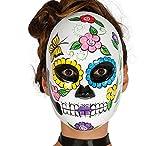 Guirca 2556 - Mascara Dia De Los Muertos Mujer