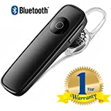 Rextan K1 Stylish Multimedia Bluetooth 4.1 Wireless Headset, Noise Canceling And Hands Free With MicCompatible With IOS And Android Smartphones (One Year Warranty)