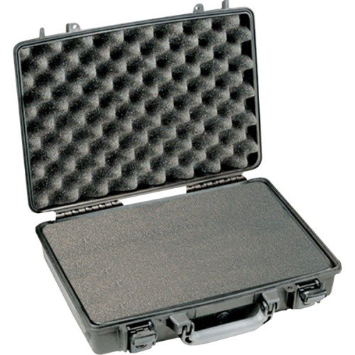 Pelican 1490-008-110 PELICAN 1490-008-110 1490 CC2 Notebook Hard Case mit Deckel Organizer und (Laptop Case Pelican)