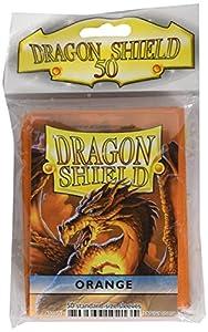 Arcane Tinman Dragon Shield - Juego de Cartas (50 Unidades), Color Naranja
