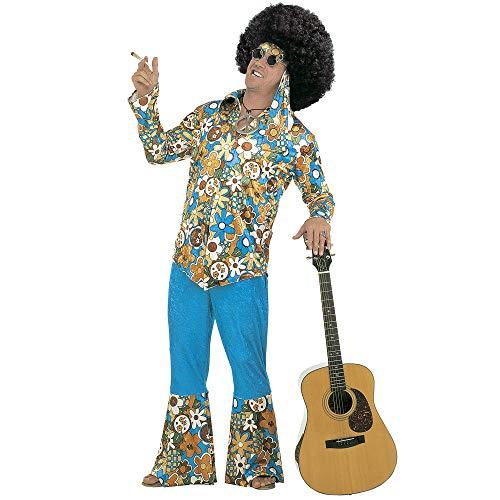 Widmann - Erwachsenenkostüm Hippie (80's Party Herren Kostüm Ideen)