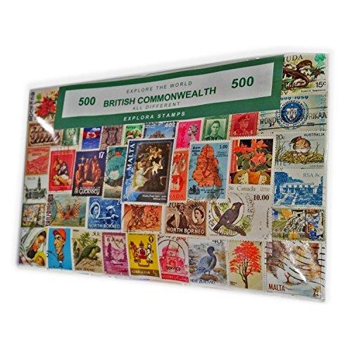 My london souvenirs s01 - collezione di 500 francobolli diversi, motivo: londra, inghilterra, gran bretagna, commonwealth, souvenir educativo, francobolli da collezione, - - - -