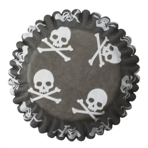 Skull and Crossbone Cupcake Cases