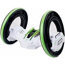 Edealing (TM) Carrera de dos ruedas Carrera del coche del control teledirigido RC con las luces delanteras del LED Caída de doble cara Rotación de 360 ??grados de rotación giratoria extrema de alta velocidad (verde)