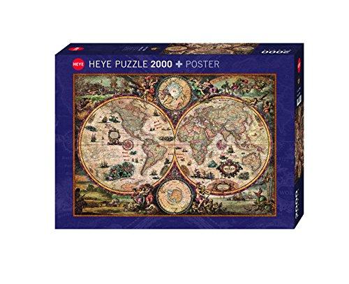 Heye - 29666 - Classico Puzzle - Mondo Vintage - 2000 Pezzi