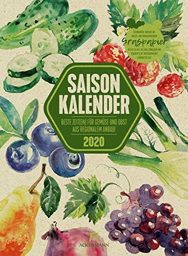 Saisonkalender Gemüse & Obst 202...