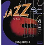 Thomastik Saiten für E-Bass Jazz Bass Flat Wound Satz JF344 4-string long scale 34