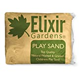Elixir Gardens 2 x 25kg Play Sand Washed & Graded Non Toxic - Tested to BS EN 71-3 BS EN 1177 by