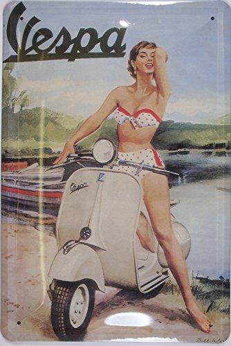 vespa-bikinigirl-nostalgie-blechschild-20x30-cm-gewoelbt