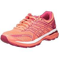 ASICS Damen GT-2000 5 Laufschuhe, Orange (Flash Coral/Coral Pink/Bright Rose), 39 EU