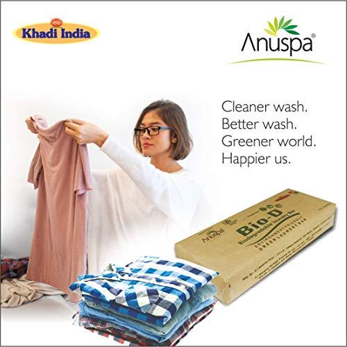 AnuSpa Eco Friendly Bio-D Laundry Bar 800 gms