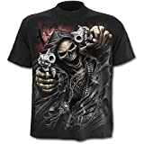 Spiral Assassin T-Shirt Fantasy Biker Style, Grösse:XL