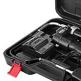 Moracle 18V Batería Pistola de Grasa Inalámbrica Pistola de Grasa para Taller de Garaje Herramientas Útiles en Casa o en el Trabajo
