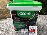Happy Koi ALGO-EX® ORIGINAL Fadenalgenenetferner Bereich von Aqua 5 Dry Algo-EX Algenentferner 10,0 kg (Eimer) für 250 QBM