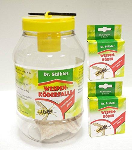 Dr. Stähler guêpes de Leurre cas – offre Set 1 x Piège à guêpes 2 x Recharge