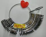 Best Ring Sizers - GOLD TOOL® 36-Piece Ring Sizer ABS PLASTIC SRINATHJI Review