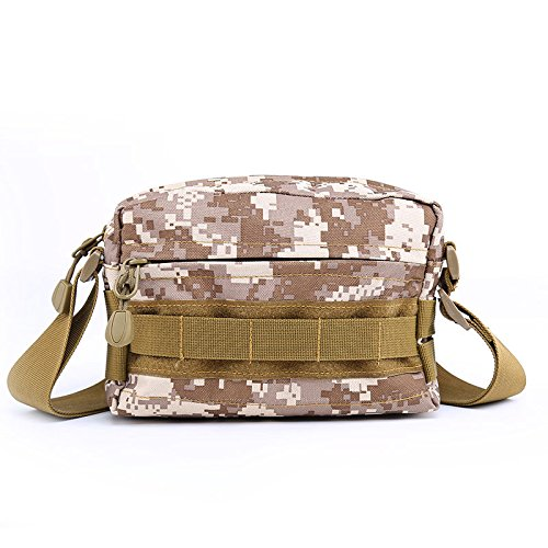 Zll/New Model Army Fan Taschen Sport Outdoor Sports Tactical Tasche Sport und Freizeit Fashion Handtaschen Beige