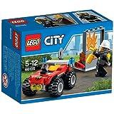 LEGO - Todoterreno de bomberos, multicolor (60105)
