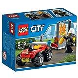 #10: Lego Fire ATV, Multi Color