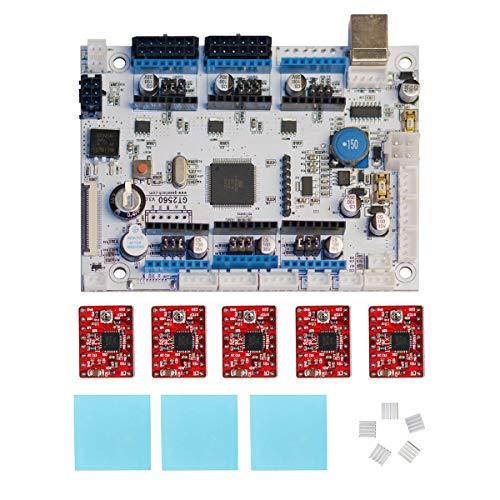 Geeetech 3D Drucker Control Board GT2560 V3.0, Marlin-Firmware, ATMEGA2560-Core-Chip, Kompatibel mit A10, A10M,A20 und A20M 3D Druckern.
