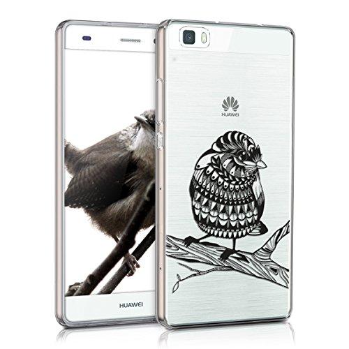 kwmobile-custodia-tpu-silicone-crystal-per-huawei-p8-lite-versione-2015-colore-nero-trasparente-desi